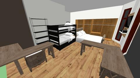 Master Room 4 - Bedroom - by muchachos02