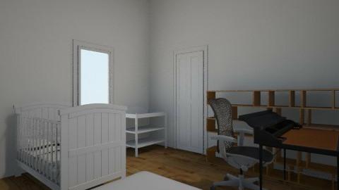 Office_Baby_Guest_Room - Classic - Kids room  - by Chari Sazon Meza