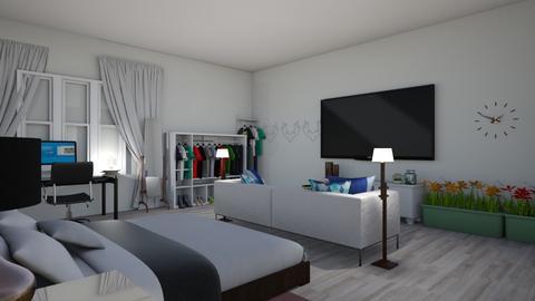 cuarto principal - Classic - Bedroom  - by valevasquez