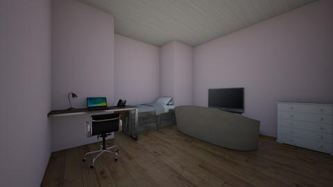Cute pink bedroom - Classic - Bedroom  - by Isla Debarros