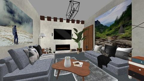 Living Adrian  - Living room  - by alexandramariamc