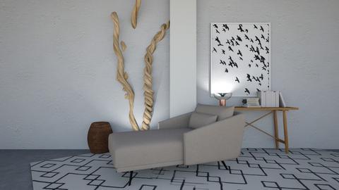 cuerdas1 - Minimal - Living room  - by Gabylez