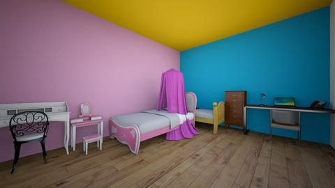 twin badroom - Bedroom  - by Rose_Design