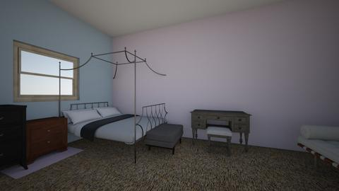 Bedroom Makeover - Minimal - Bedroom  - by Butterfly_1234