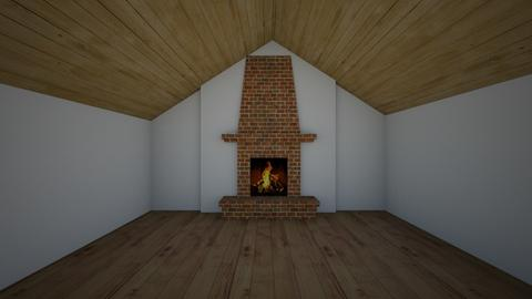 empty attic living room - Rustic - Living room  - by Ashton Ryan Marr