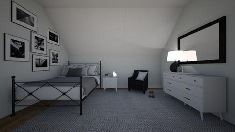 Black Bedroom - Glamour - Bedroom  - by BaylorBear