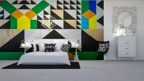 wall art bedroom - Bedroom  - by ange06