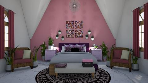 pinky - Bedroom - by canelita