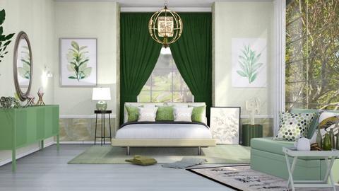 M_ Sage2 - Bedroom  - by milyca8