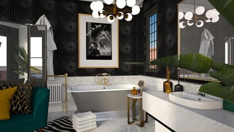 ArtDeco - Bathroom  - by smunro7