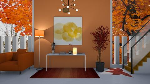 Autumn Hallway - by kasjdg