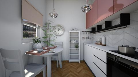 spring - Kitchen  - by Sali15