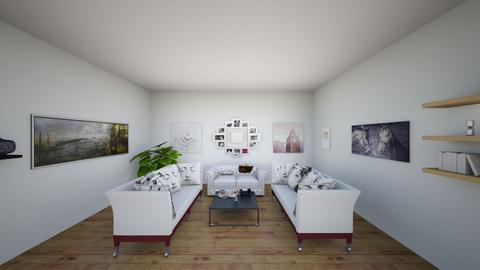 Monochrome living room - Classic - Living room  - by Jessi123456