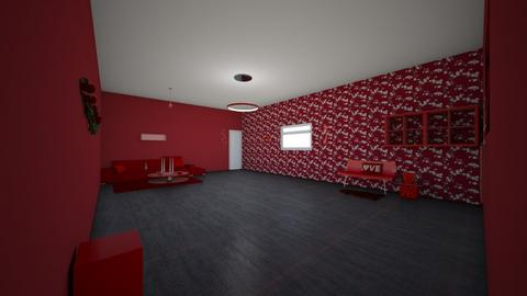 red themed room - Modern - Living room  - by Signified