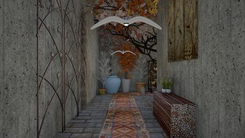 urban jungle hallway 02 - Modern - by decordiva1