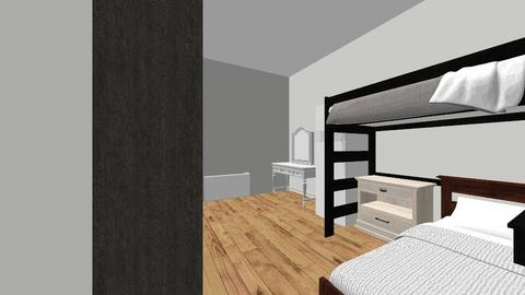 Dorm - Bedroom  - by angelinacamacho