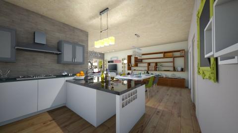Via Bruno Bruni - Eclectic - Kitchen  - by PROGETIM