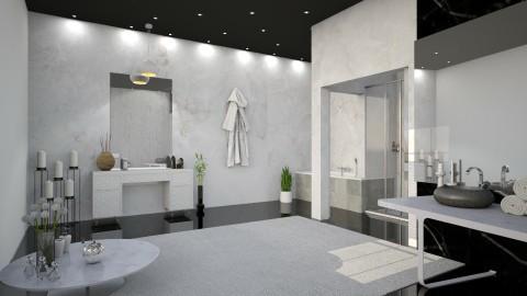Marble white - Classic - Bathroom  - by Yana_Arsenyuk