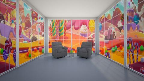 Candy Living Room - Living room  - by Tanem Kutlu
