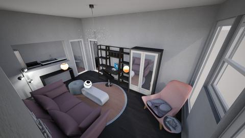 Retro Modern Studio - Feminine - Living room - by KajsaRain