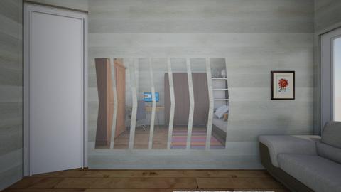 bedroom sofa experimental - Bedroom  - by zemaye