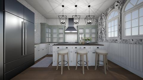 Farmhouse Kitchen - Rustic - Kitchen  - by daly5436