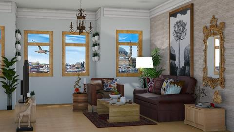 TURKISH MODERN - Country - Living room  - by laura cunaku