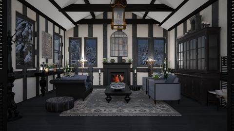 Design 493  Touch of Tudor Elegance - Living room  - by Daisy320