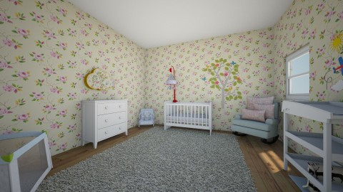 Baby Nursery  - Classic - Kids room  - by jessicapos