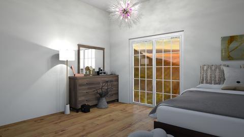 Simple bedroom - Classic - Bedroom  - by Itsavannah