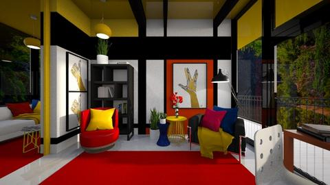 Bauhaus Study Room - by Celia Schrag