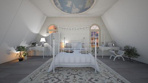 Cozy Attic Bedroom - Bedroom  - by Dragonets of Destiny