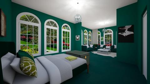 Isle - Rustic - Bedroom  - by emivim