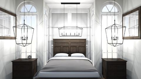 apartment bedroom - Bedroom - by cuddelbear