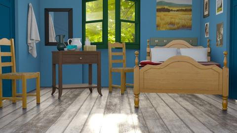 van gogh bedroom - by nitya_avvari