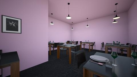 restaurant design - Modern - Kitchen  - by leslymadero100