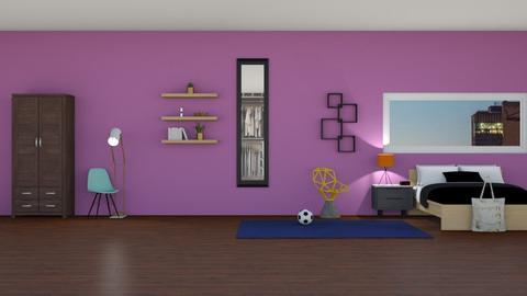 Teenage Room - by designgirl59