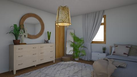 Scandinavian Room - Modern - Bedroom - by 21harpm