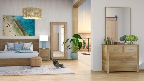beach house - Bedroom  - by kt_2
