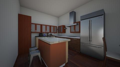 Isaiah Bradshaw 2 - Kitchen  - by DCHSWheeler