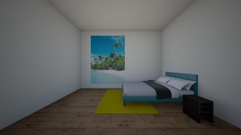 Summer beach bedroom - Modern - Bedroom  - by Louisa caulton
