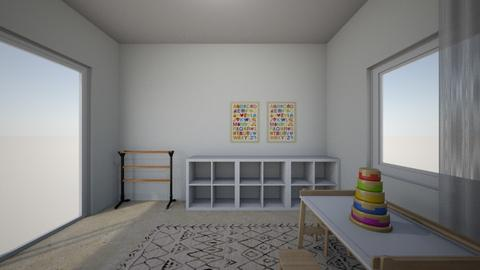 Noa Ashkenazi 3 - Kids room  - by erlichroni