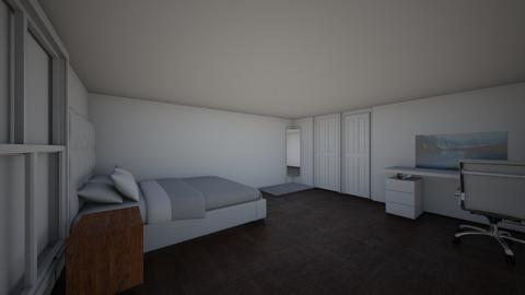 my room - Modern - Bedroom  - by isabelparra10