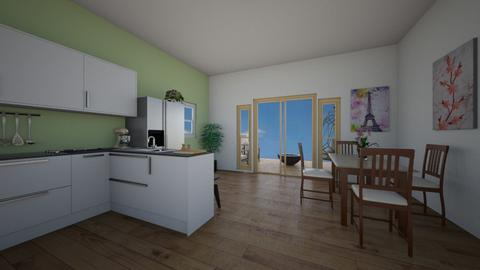 ugh - Kitchen  - by ievameda_7