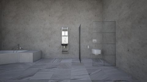 pure industrial vibe - Minimal - Bathroom  - by kitty