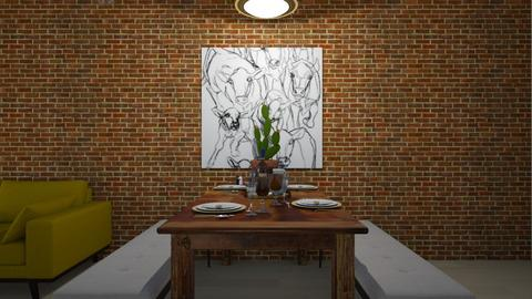 New York City Loft Dining - Dining room  - by rachelmarieknepp