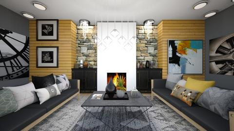 Modern Living Room - Living room  - by Feeny