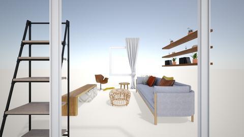Leslie living - Living room  - by rudinacoraj