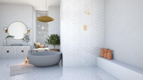 Marble Bathroom - Bathroom  - by aestheticXdesigns