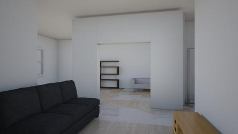 floorplan By Alexis Rios - Modern - Bedroom  - by alexis rios